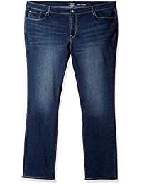 Women's Curvy Straight Jeans,