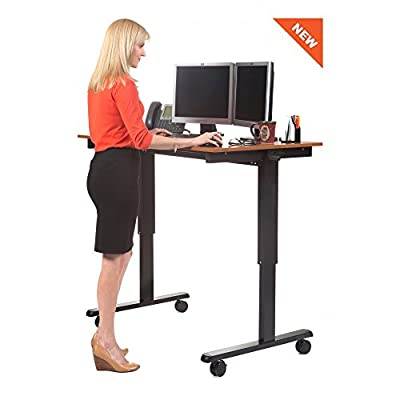 """48"""" Crank Adjustable Height Standing Desk"""