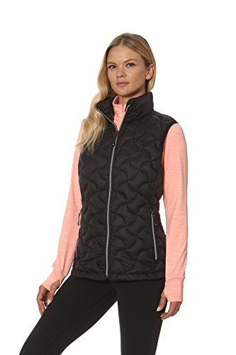 Gerry Cathy Lightweight, Packable Down, Water Repellent Vest (Black, Small)