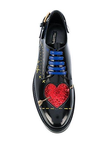 Pelle E Nero Gabbana Dolce CN0037AI522HNF57 Stringate Donna AF180