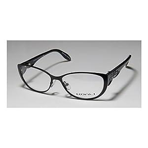 Koali 7054k Womens/Ladies Designer Full-rim Eyeglasses/Eyeglass Frame (51-14-125, Black / Purple)