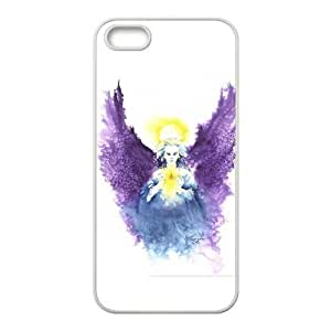 Angel Wings iPhone 5s Cases TPU Rubber Hard Soft Compound Protective Cover Case for iPhone 5 5s by Maris's Diary