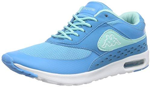 Kappa Milla Damen Sneakers Blau (6637 tuerkis/mint)