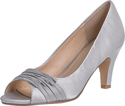 Lexus De Vestir Mujer Gris Zapatos Para qHZqCw