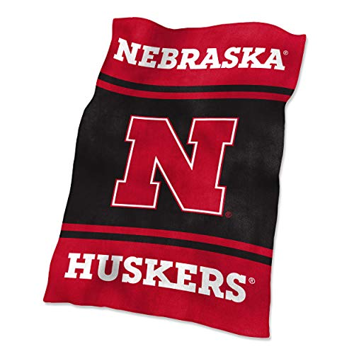 NCAA Nebraska Ultrasoft Blanket (Athletics Cornhuskers Nebraska)
