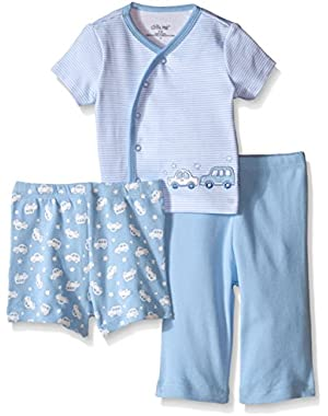 Baby Boys' 3 Piece Diaper Set