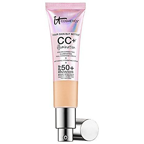 It Cosmetics Your Skin But Better CC Illumination with SPF 50, 1.08 Ounce, Fair