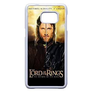 Samsung Galaxy S6 Edge Plus Case (TPU), aragorn the lord of the rings the return of the king Cell phone case White for Samsung Galaxy S6 Edge Plus - YYTT7880007