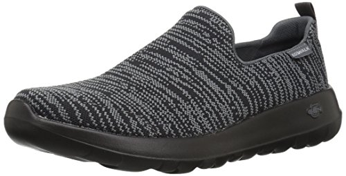Slip Black Gowalk Max Skechers on Unendliche Trainer Grey Herren xHI1w01