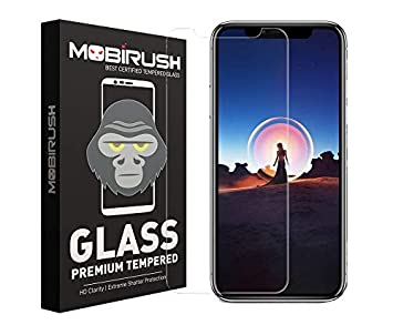 Mobirush Gorilla High Transparency Air Bubble Proof Tempered Glass Guard for Apple iPhone XR Screen guards