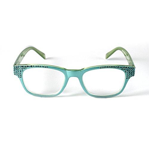 Women's Birthstone Reading Glasses JCR362 Dec - 250