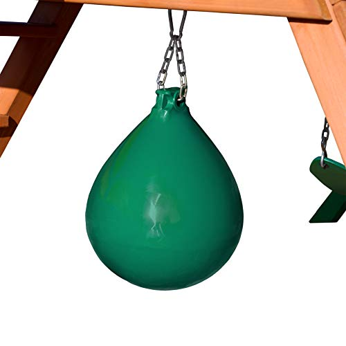 Gorilla Playset Accessories Punching Ball in Green ()