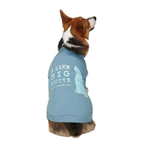 Choose Size Dog Is Good Big Mutts Dog Puppy Tank Shirt Blue