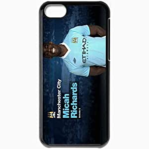 Personalized iPhone 5C Cell phone Case/Cover Skin 2013 new micah richards Black