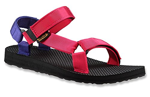 Teva Girl's Original Universal Sandal (11 Little Kid M, Pink/Purple)