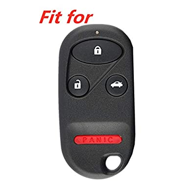 KAWIHEN Silicone Keyless Entry Transmitter Cover for Acura CL Integra RL TL TSX MDX Honda Accord CR-V Civic del Sol Insight Odyssey Pilot Prelude S2000 KOBUTAH2T A269ZUA101 A269ZUA108 CWT72147KA: Automotive