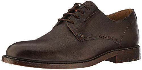 Shoe Dark Derby Orange Brown BOSS up Lace Hugo Leather Cultroot Work Boss Men's by qPwwxST7z