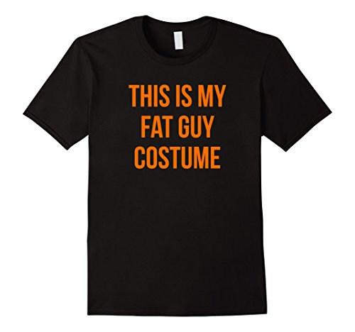 Mens This is My Fat Guy Costume for Men 3XL Black