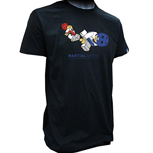 MOOTO Lego Kick Taekwondo TShirts T-Shirts TKD Tae Kwon Do 110 to 190 (130(120-130cm)(3.93-4.26ft))