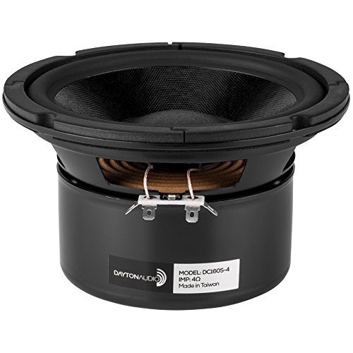 Dayton Audio DC160S-4 6-1/2 Classic Shielded Woofer 4 Ohm by Dayton