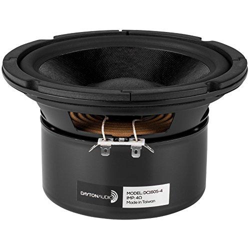 Dayton Audio DC160S-4 6-1/2 Classic Shielded Woofer 4 Ohm by Dayton