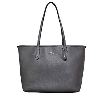 Coach Bag For Women,Dark Grey - Tote Bags