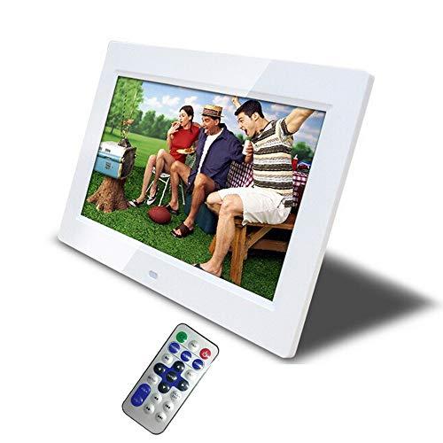 Digital foto marco 10 pulgadas, álbum de foto electrónica de alta definición con Control remoto, MP3, calendario, reloj,...