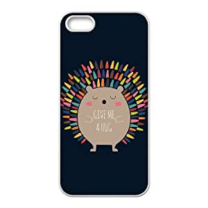 iPhone 4 4s Cell Phone Case White Give Me A Hug Uvcce