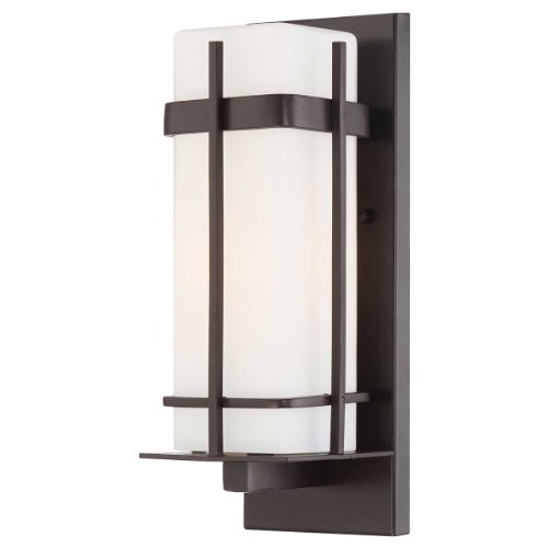 Cheap Minka Lavery 72352-615B-PL 1 Light Outdoor Wall Mount Lighting, Dorian Bronze