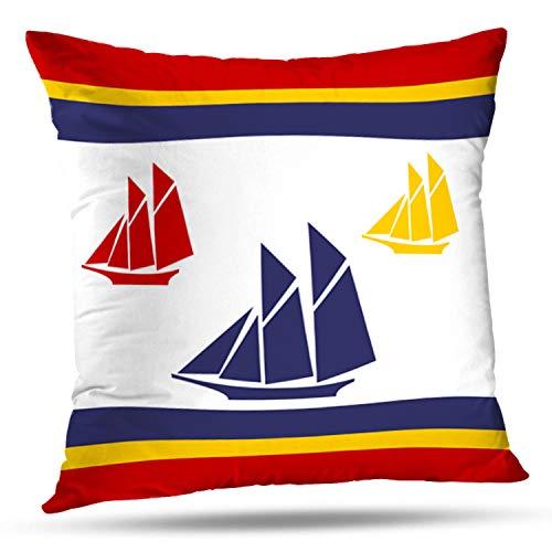 - Soopat Decorative Throw Pillow Cover Square Cushion 16