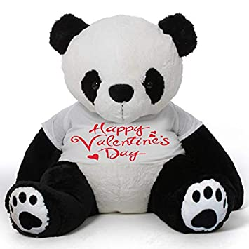 Amazon.com: CLICK4DEAL Big Panda - Camiseta de manga larga ...