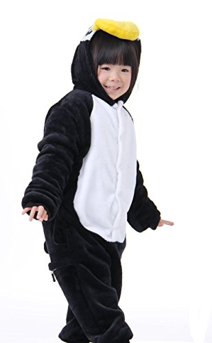Onesie Tonwhar Halloween Animal Cosplay Kigurumi Kids Pinguin Costumes Children' S Mehrfarbig xY7OwqYr