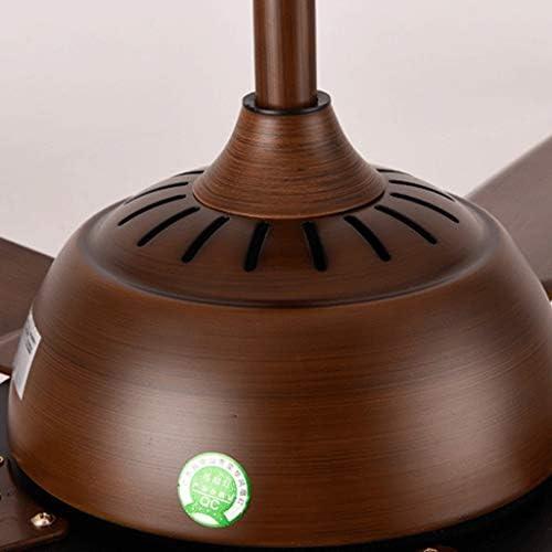 Nordic Unabhängige Beleuschtung Moderne Wohnzimmer Esszimmer Kreativ Fan Deckenleuchten mit Beleuchtung Dual Tone Licht Einfache Fernbedienung LED-Anhänger Fan Beleuchtung 24W