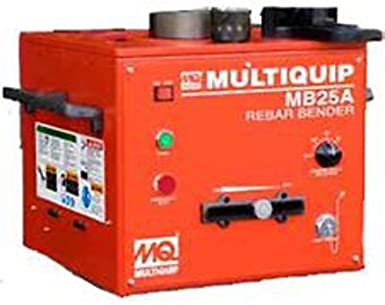 "Multiquip MB25A Portable Rebar Bender, Bench Type, 1"" Bar Capacity, ..."