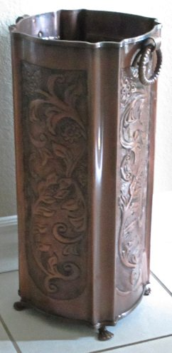 Excellent Accents Copper Umbrella Stand Rh255cpr