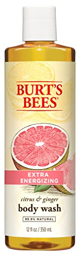 Burt's Bees Extra Energizing Citrus and Ginger Body Wash - 12 Ounce Bottle