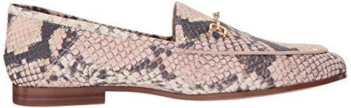 Women's Edelman Loriane Snake Leather Loafer Flats Sam Pink 58TpwxvqxF