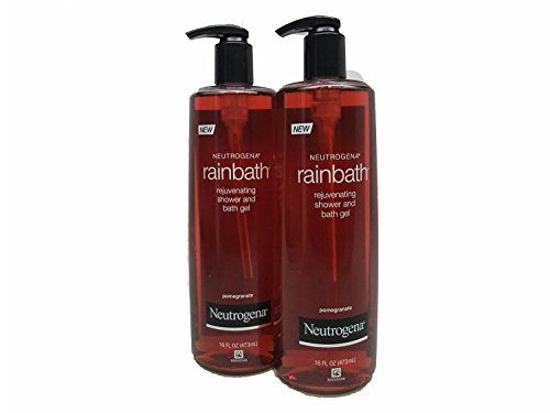 Neutrogena Rainbath Rejuvenating Shower and Bath Gel Pomegranate 16oz (2 Pack)