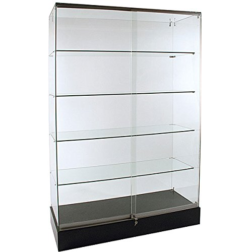 KC Store Fixtures 16522 Frameless Glass Showcase, 72
