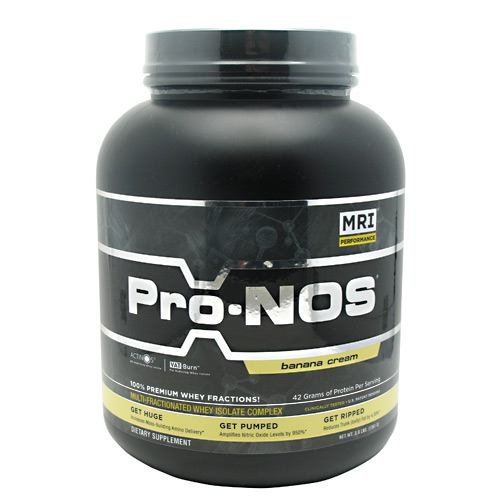 Pro-Nos Whey I/Complex, Ban, 3 lb ( Multi-Pack) by MRI
