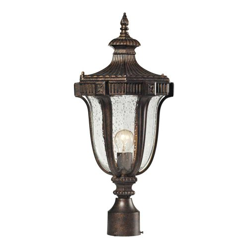 ELK Lighting Sturgress Castle 1-light Outdoor Post Mount, Regal Bronze ()