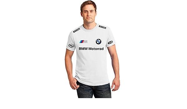 Camiseta t-shirt BMW moto auto blancos personalizado katanè italia ...