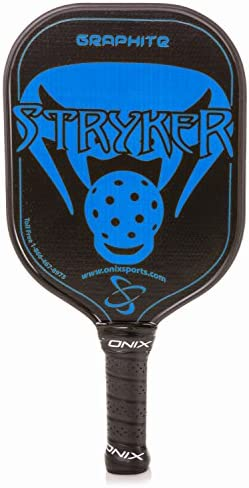 Onix Graphite Stryker Pickleball Paddle Features Oversized, Nomex, Paper Honeycomb Core, and Graphite Face