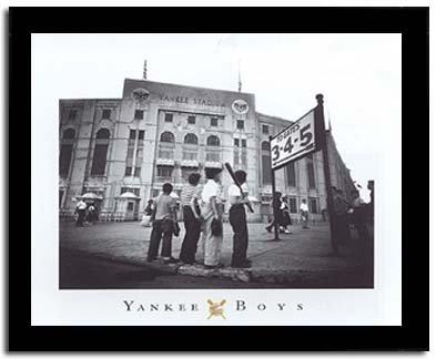 Very Amazon.com: Yankee Boys Stadium Baseball Art Framed Print Picture  PN21