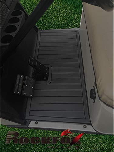 - RockFox Outlet Golf Cart Floor Mat with EVA Environmentally Friendly Material. Luxury Floor Mat is A Great Choice to Dress Up Cart. (EZGO TXT, Dark Grey)