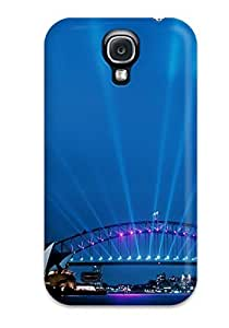 New Style CaseyKBrown Hard Case Cover For Galaxy S4- Sydney Opera House At Dusk