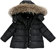 Forestime Baby Girls Boys Kids Down Jacket Coat Down Feather Winter Warm Children Clothes