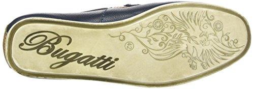 Bugatti Mens Pantoufle En Cuir Marine