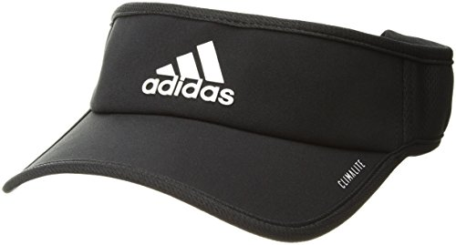 adidas Men's Superlite Performance Visor, Black/White, One Size ()