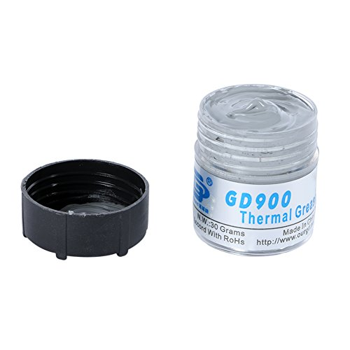 Sizet 30g Gray GD900 Thermal Grease Paste Silicone Heat Sink Compound